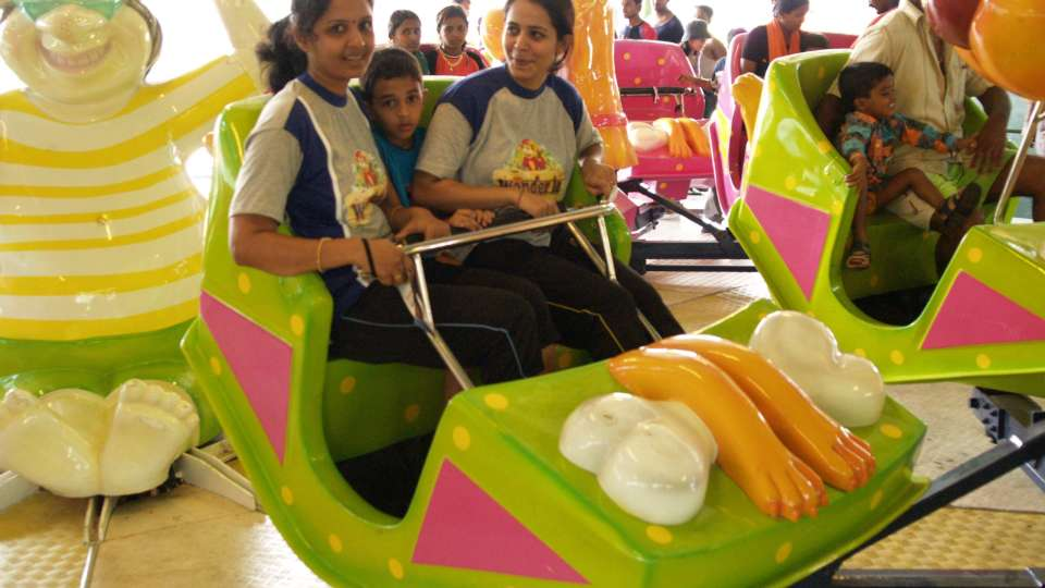 Dry Rides - Toon Tango wonderla Amusement Park Bangalore