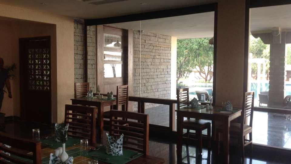 Restaurant at Hotel Heritage Resort Hampi