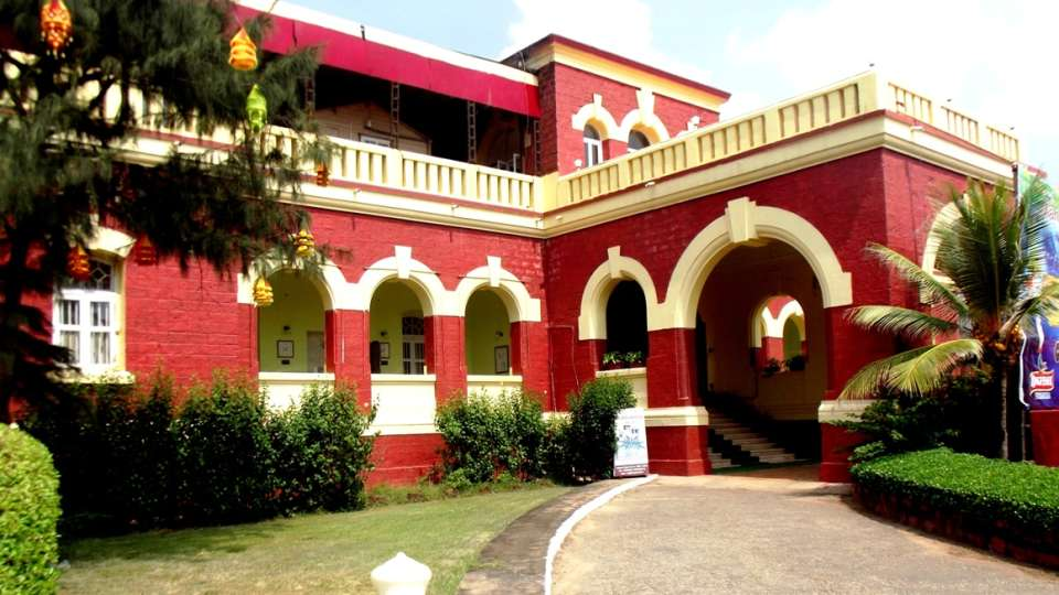 Facade of Mahodadhi Palace - A Beach View Heritage Hotel in Puri