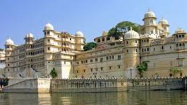 City palace complex in udaipur
