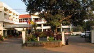 Exterior of Hotel Coorg International Madikere