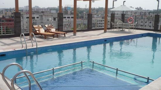 Swimming Pool at Hotel Daspalla Visakhapatnam 1