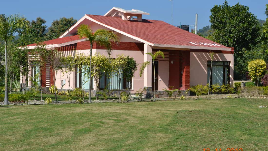 Leopard Duplex Corbett Wild Iris Spa Resort Ramnagar 4