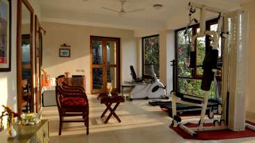 Gym at Infinity Resorts CorbettResort Facilities in Corbett 1