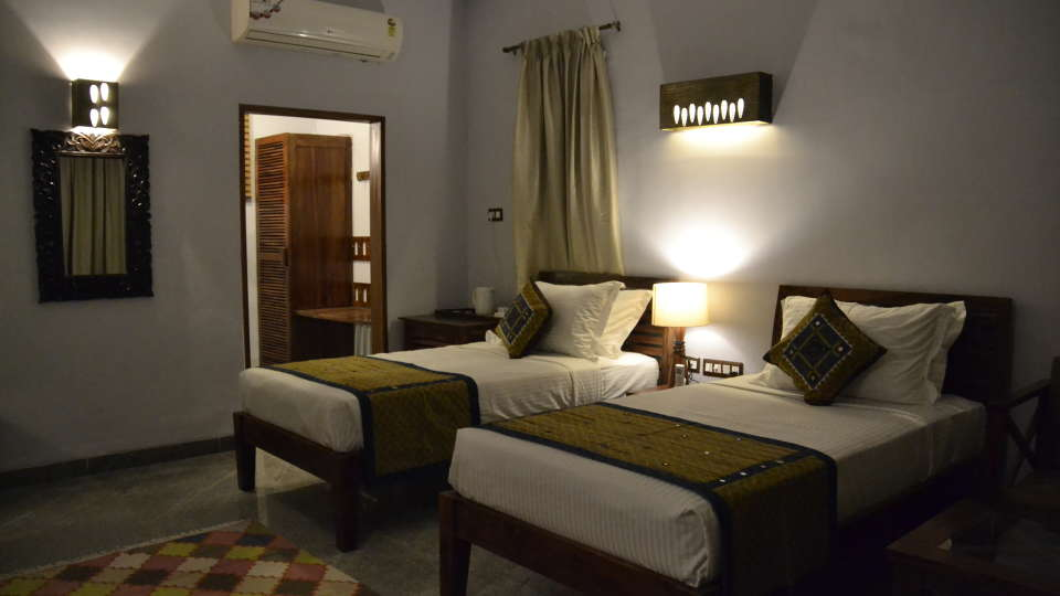Cottage at Hotel Heritage Resort Hampi