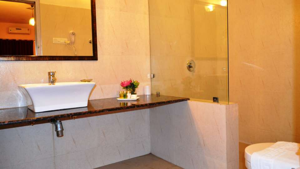 Umaid Lake Palace Dausa  Deluxe J Suite Bathroom 4
