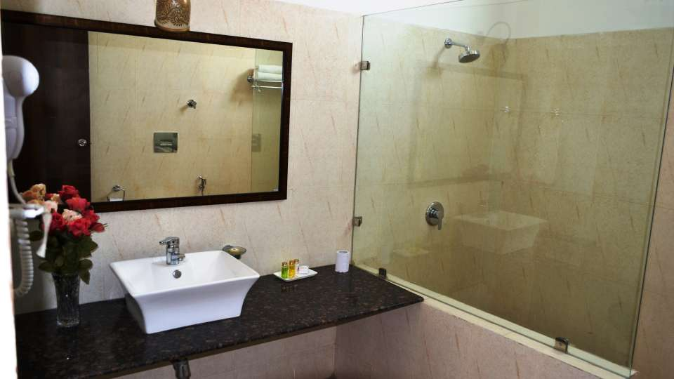 Umaid Lake Palace Dausa  Deluxe J Suite Bathroom