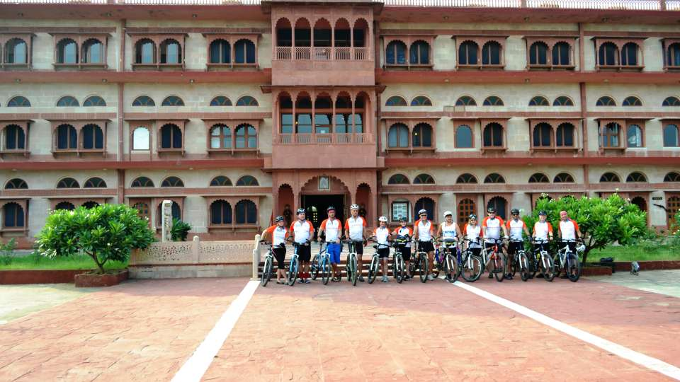 Cycle for Charity Challenge at Umaid Lake Palace Hotel Kalakho Dausa Rajasthan