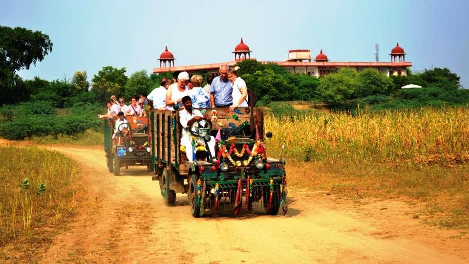 Juggad Ride at Umaid Lake Palace Hotel Kalakho Dausa Rajasthan
