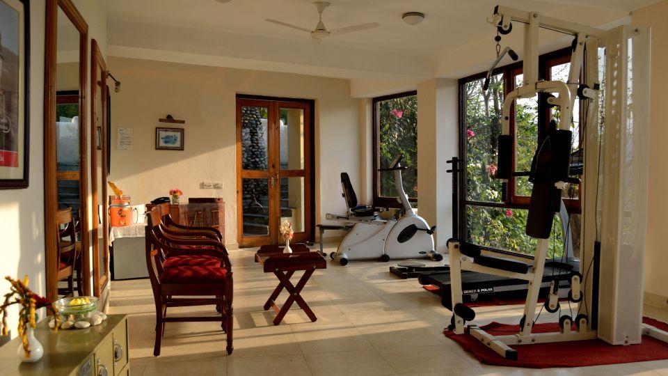 Gym at Infinity Resorts CorbettResort Facilities in Corbett 1
