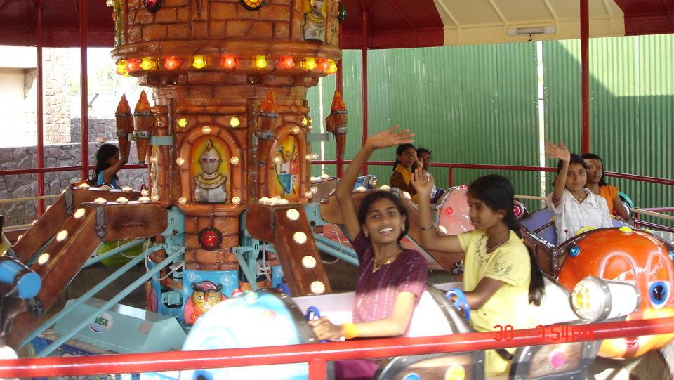 Kids Rides - Merry Ghosts at  Wonderla Amusement Park Bengaluru