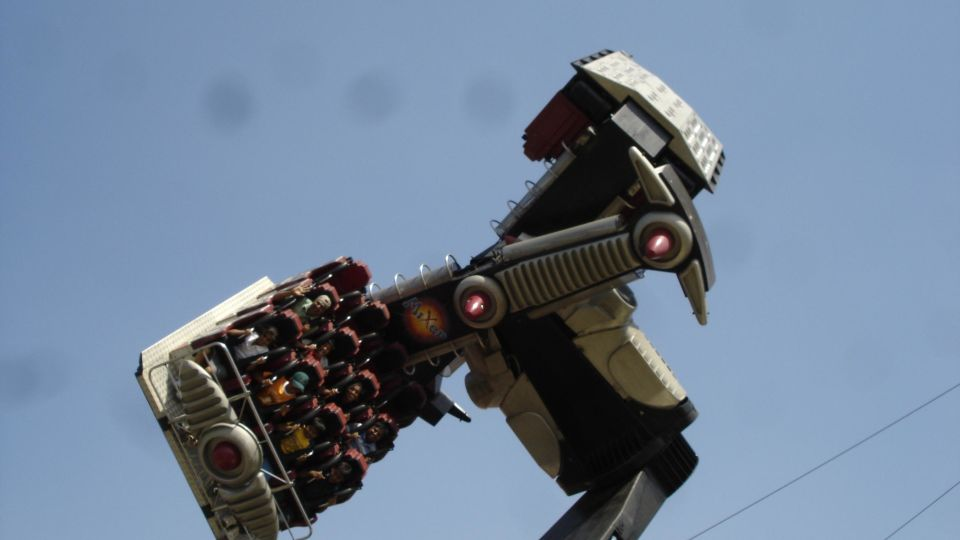 Thrillers Rides - Mixer at  Wonderla Amusement Park Bangalore
