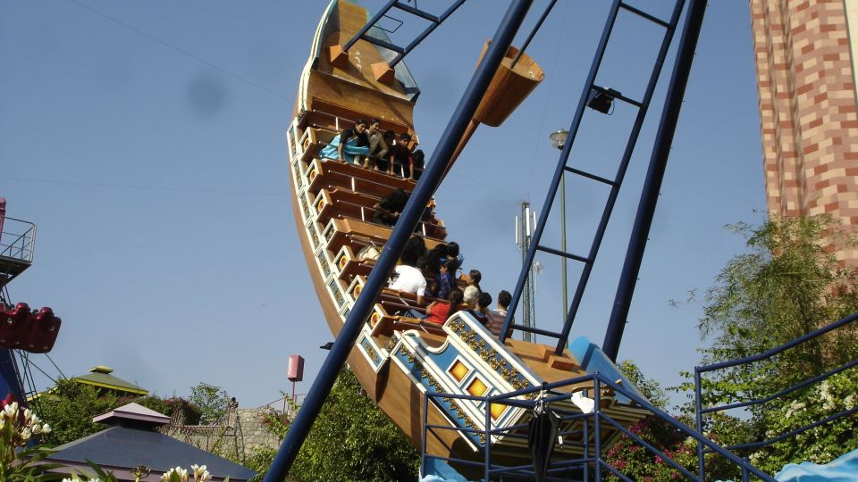 Dry Rides - Pirate Ship at  wonderla Amusement Park Bengaluru