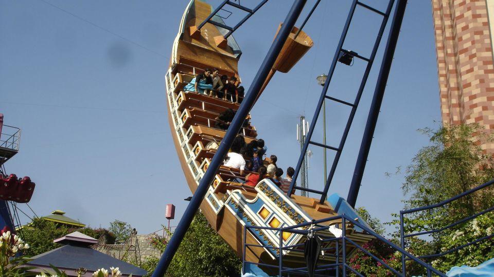 Dry Rides - Pirate Ship at  wonderla Amusement Park Bangalore