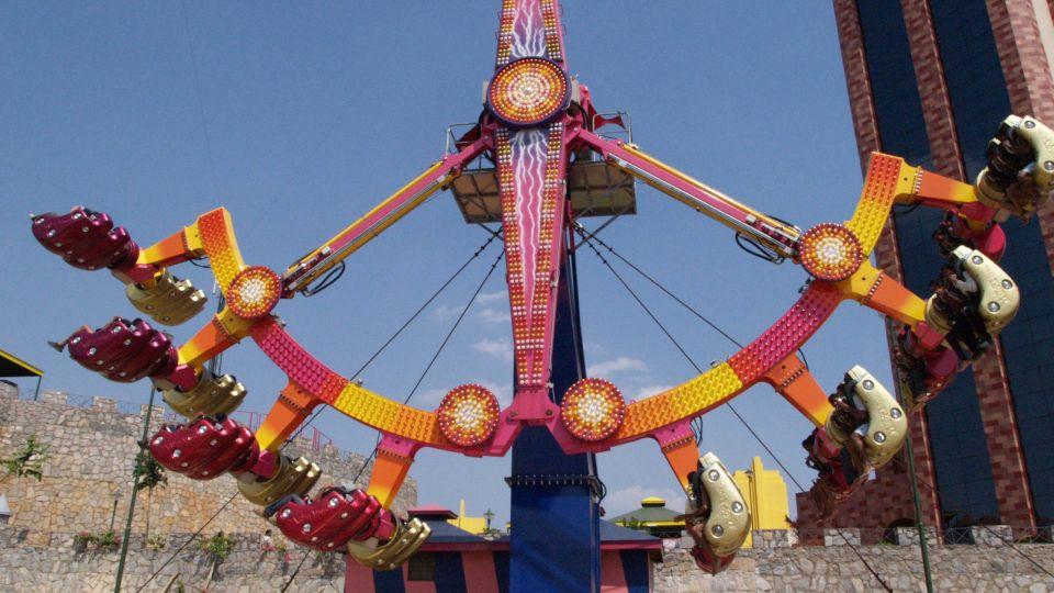 Thrillers Rides - Y Scream at  Wonderla Amusement Park Bangalore
