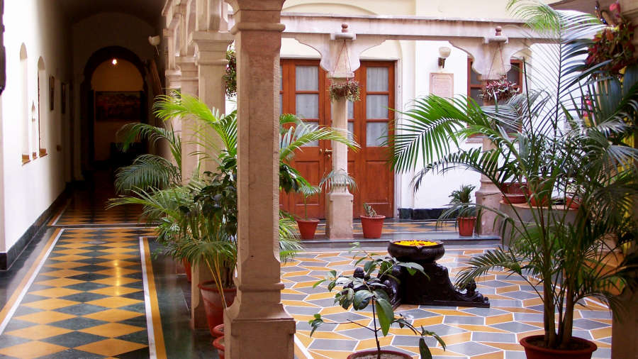 The Haveli Hari Ganga Hotel, Haridwar Haridwar Interior of The Haveli Hari Ganga Hotel Haridwar