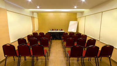 theatre style seating. Conference Room - Arranged In Theatre Setting. Board Style Seating