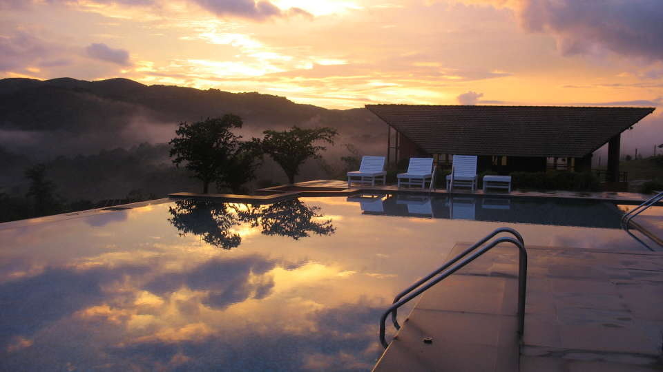 Heritage Resort Coorg Coorg Pool Sunset 4