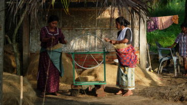Coir Factory Visit Vasundhara Sarovar Premiere Vayalar