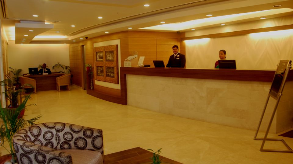 VITS Bhubaneswar Hotel Bhubaneswar Reception Area of VITS Hotel Bhubaneswar
