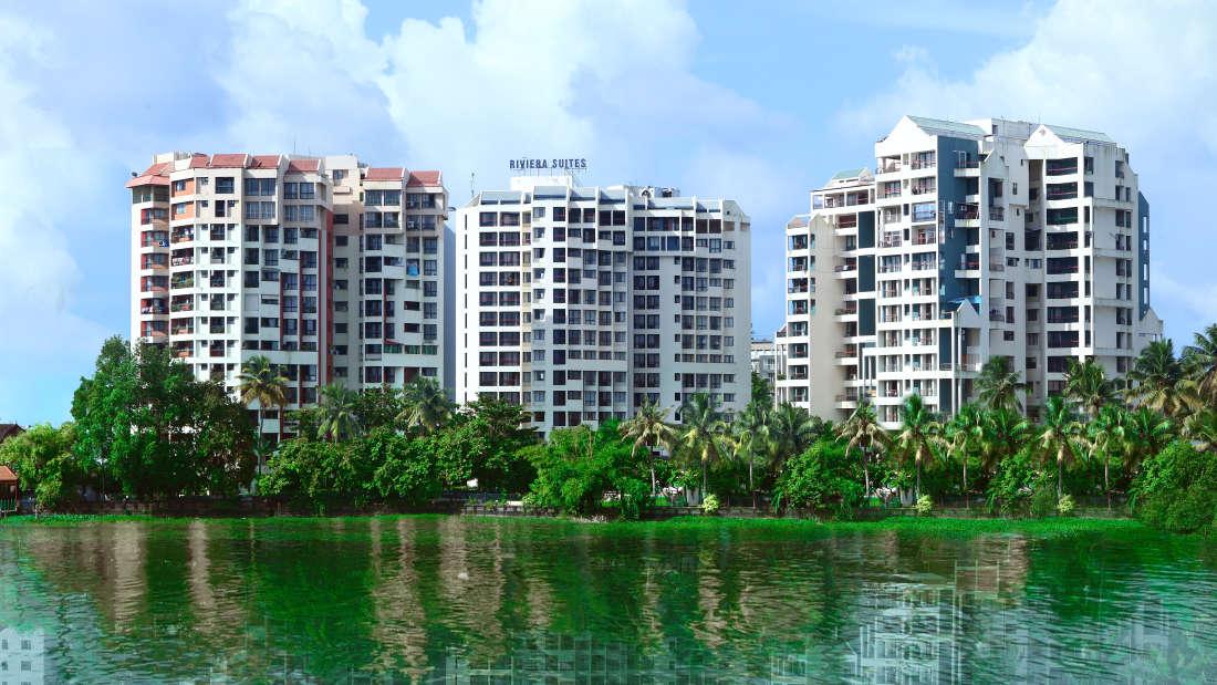 Facade View - Hotel Riviera Suites Kochi