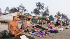 Hippie Market on Arambol Beach