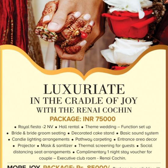 Luxuriate in the cradle of Joy with The Renai Cochin 1