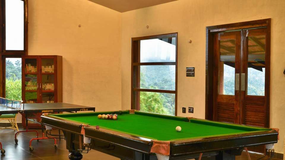 Indoor Games at Hotel Heritage Resort Coorg Madikeri
