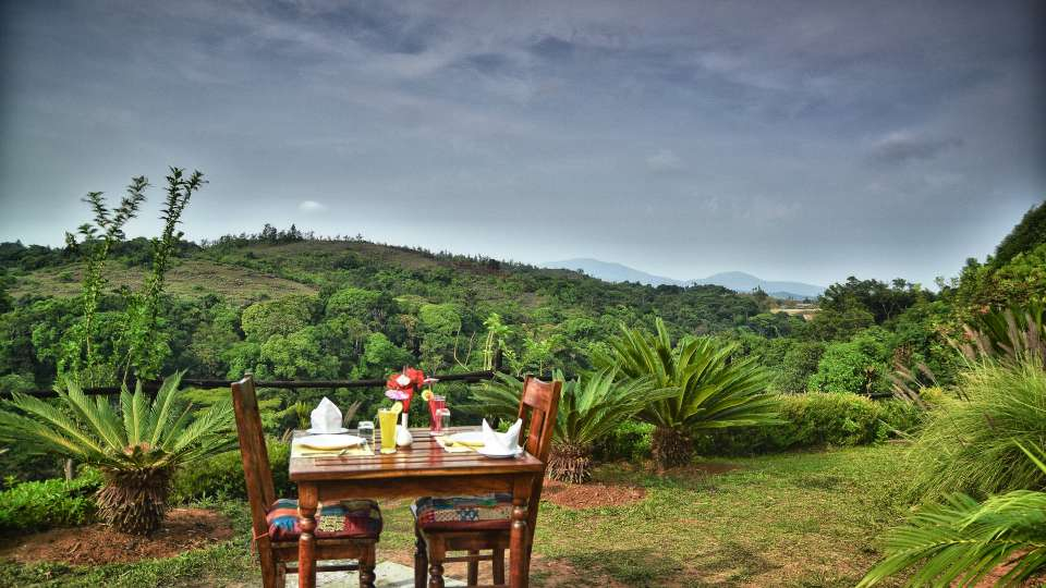 Dining at Hotel Heritage Resort Coorg Madikeri