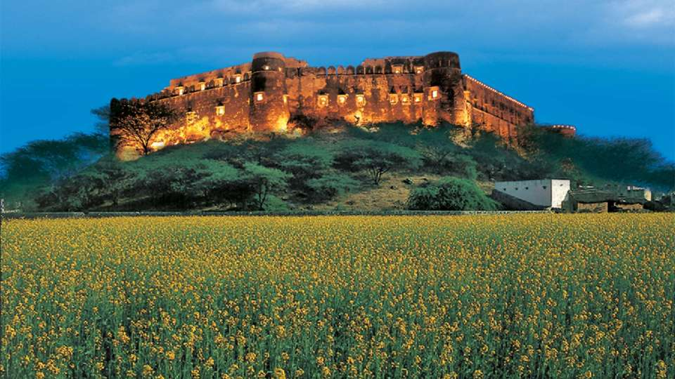 Alwar Resorts, Premises of Hotel Hill Fort Kesroli, Alwar, Rajasthan