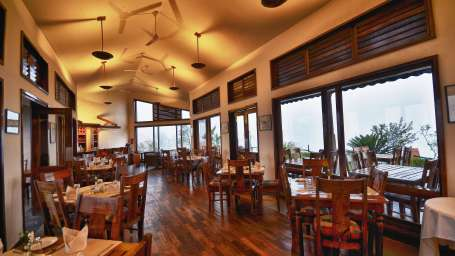 Dining at Hotel Heritage Resort Coorg Madikeri
