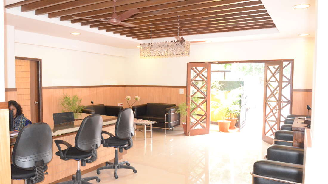 Reception Trinity Suites Ulsoor Bangalore 3