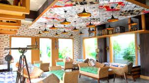 Courtyard Coffee Shop- Pramod Convention and beach Resort Puri- resort in Puri 1