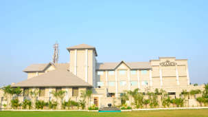 View from the Lawn- Pramod Convention and Beach Resort Puri- leisure resort in Puri