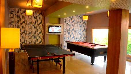 Game Room at Pramod Convention and Beach Resort Puri- resort in Puri 1