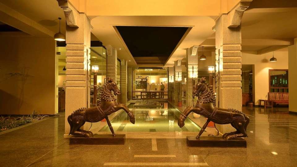 Heritage Resort Hampi Hampi Lobby of at Heritage Resort Hampi3
