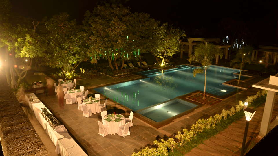 Heritage Resort Hampi Hampi Swimming Pool at Heritage Resort Hampi3