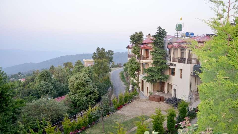 Ojaswi Himalayan Resort, Mukteshwar Nainital Exterior View Ojaswi Himalayan Resort Mukteshwar 10