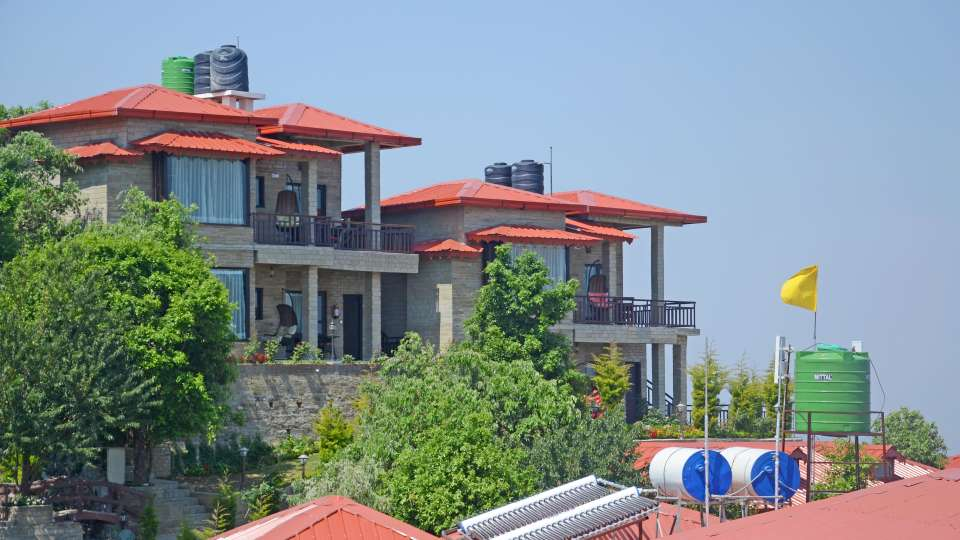 Ojaswi Himalayan Resort, Mukteshwar Nainital Exterior View Ojaswi Himalayan Resort Mukteshwar 4