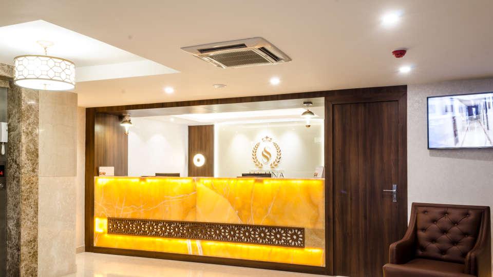 Lobby Reception SS Lumina Hotel - Koramangala Bangalore 2