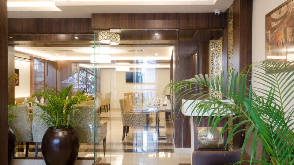 Lobby & Reception,SS Lumina Hotel - Koramangala, Bangalore