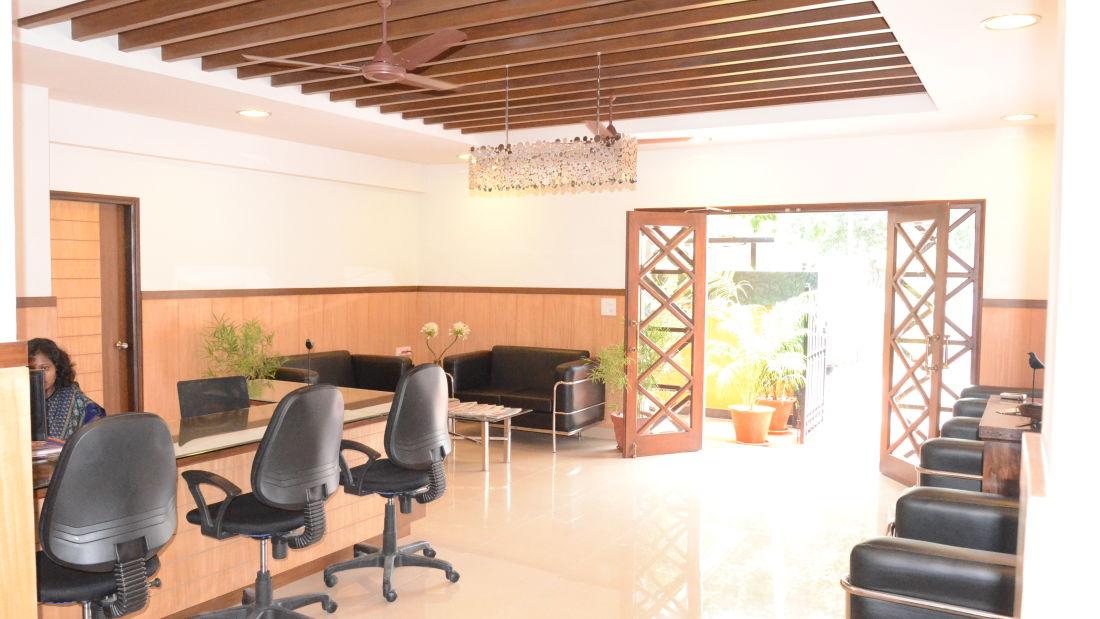 Reception Trinity Suites Ulsoor Bangalore 3