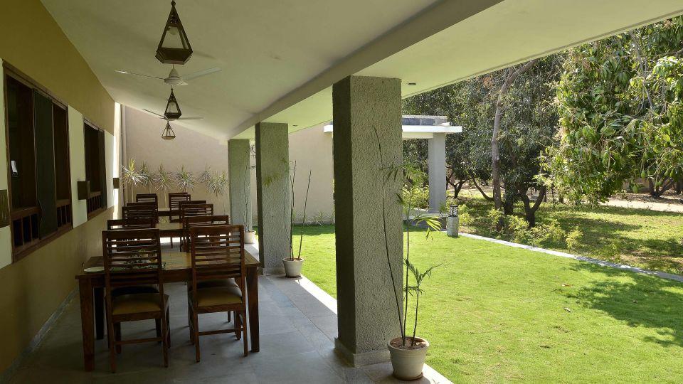 Heritage Resort Hampi Hampi 14. Outdoor Breakfast