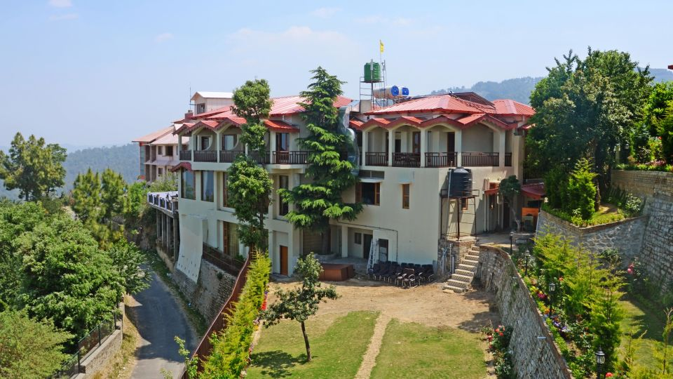 Ojaswi Himalayan Resort, Mukteshwar Nainital Exterior View Ojaswi Himalayan Resort Mukteshwar 7