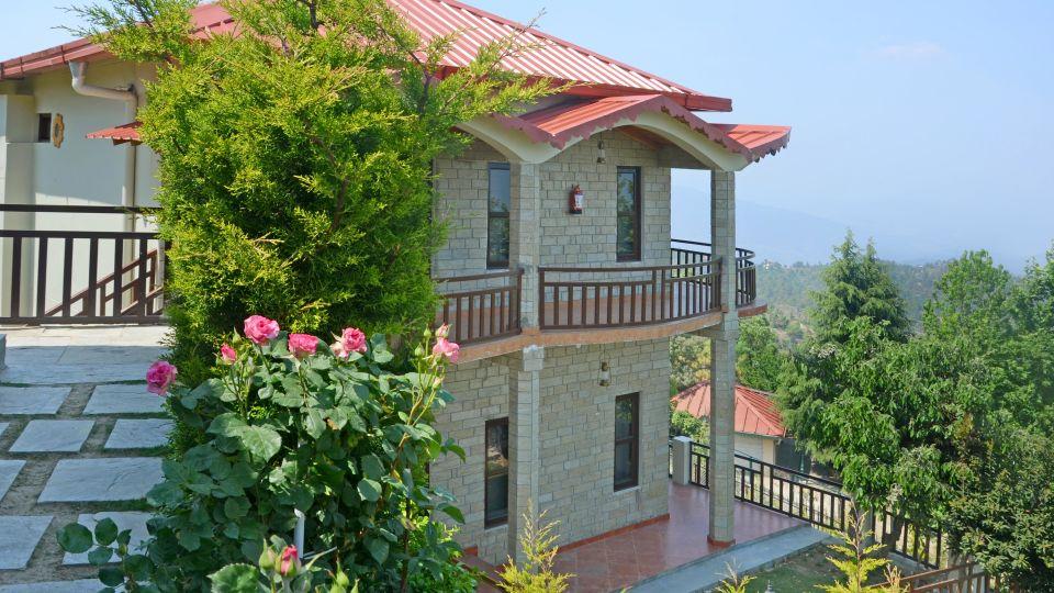 Ojaswi Himalayan Resort, Mukteshwar Nainital Exterior View Ojaswi Himalayan Resort Mukteshwar 8