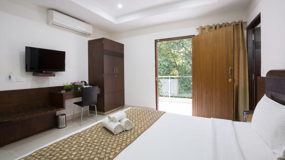 The Sanctum Suites, Bangalore Bangalore Premium King Room with balcony 1 The Sanctum Suites Bangalore