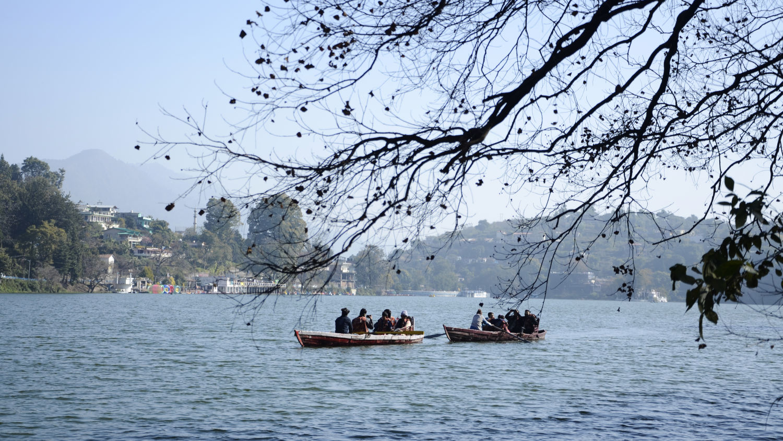 Boating in Bhimtal Lake, Resort near Bhimtal Lake, Rosefinch Sarovar Portico, Bhimtal-9