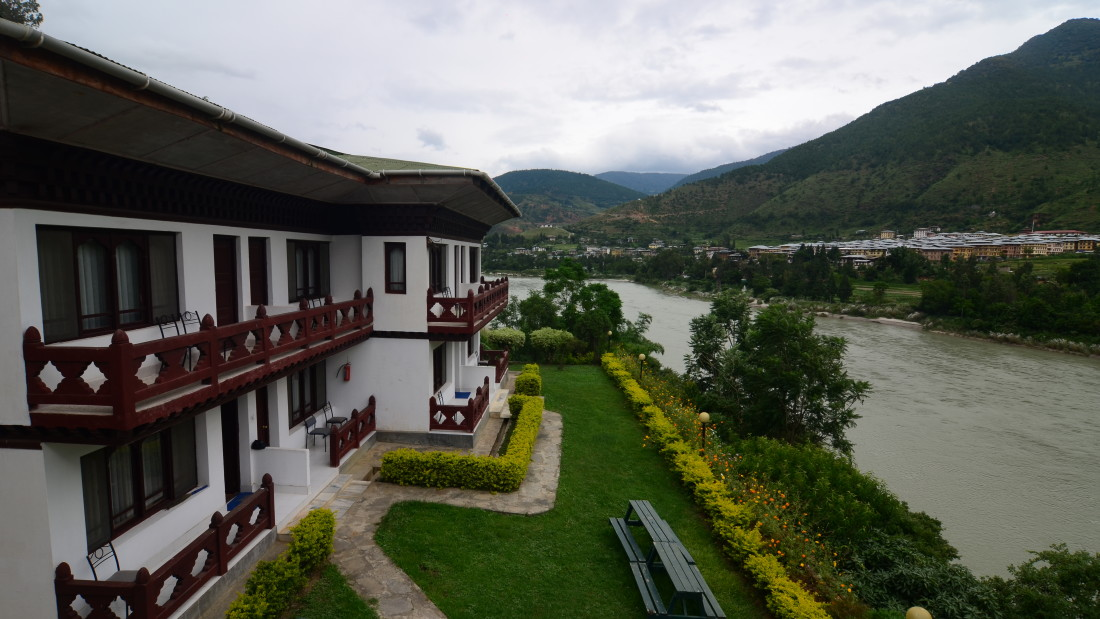 Facade of Dragon s Nest Punakha 1