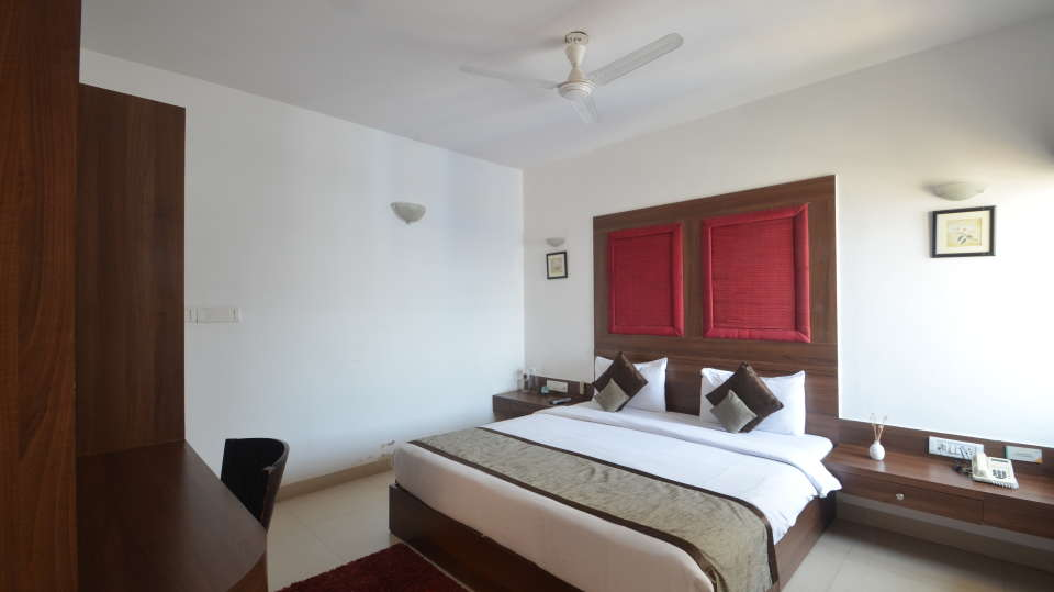 Sherwood Suites  Deluxe Room King size Bed Sherwood Suites in Marathahalli