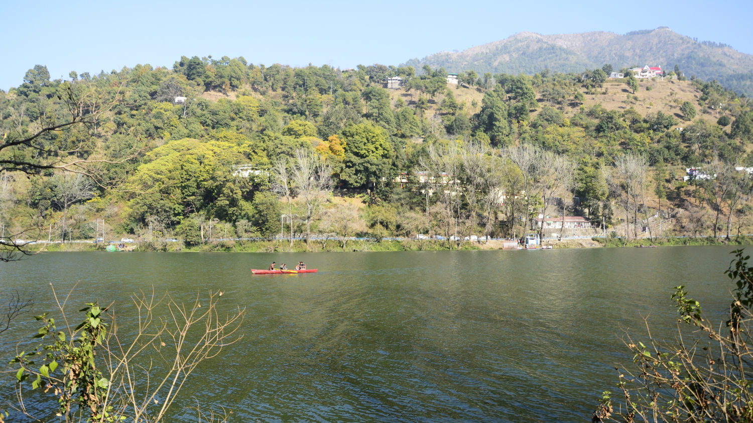 Bhimtal Lake at Nainital, Things to see in Nainital, Places to see in Uttarakhand
